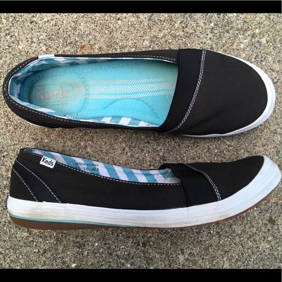 d3db6ebf5ed Keds Shoes - KEDS Canvas Flats Women s Shoes Slip Ons
